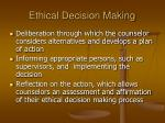 ethical decision making40