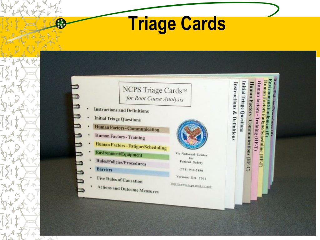 Triage Cards