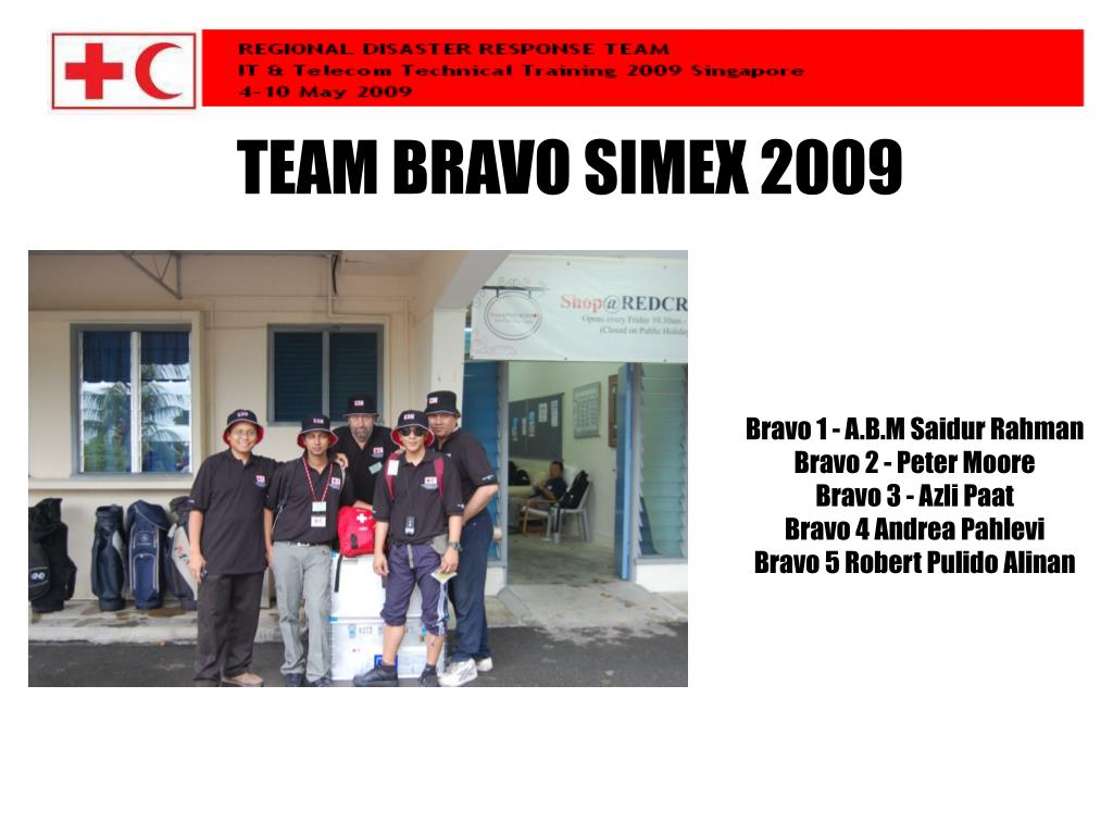 TEAM BRAVO SIMEX 2009