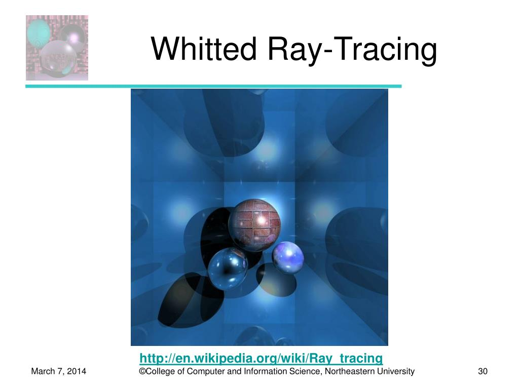 Whitted Ray-Tracing