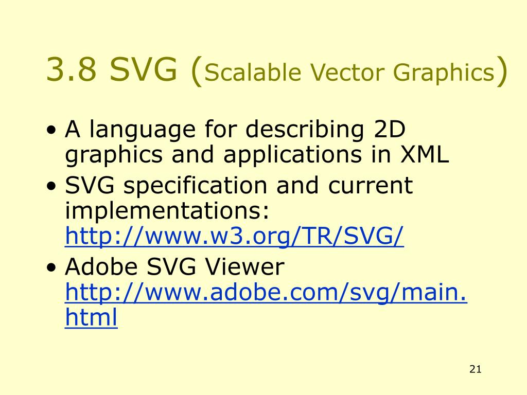 3.8 SVG (