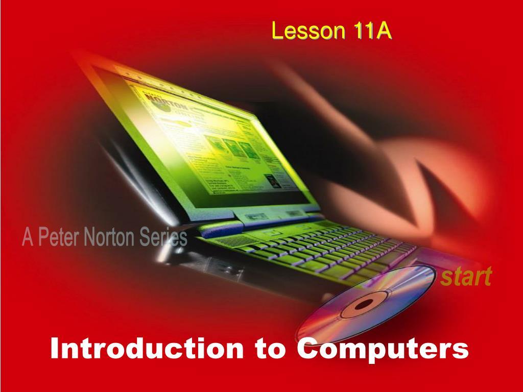 Lesson 11A