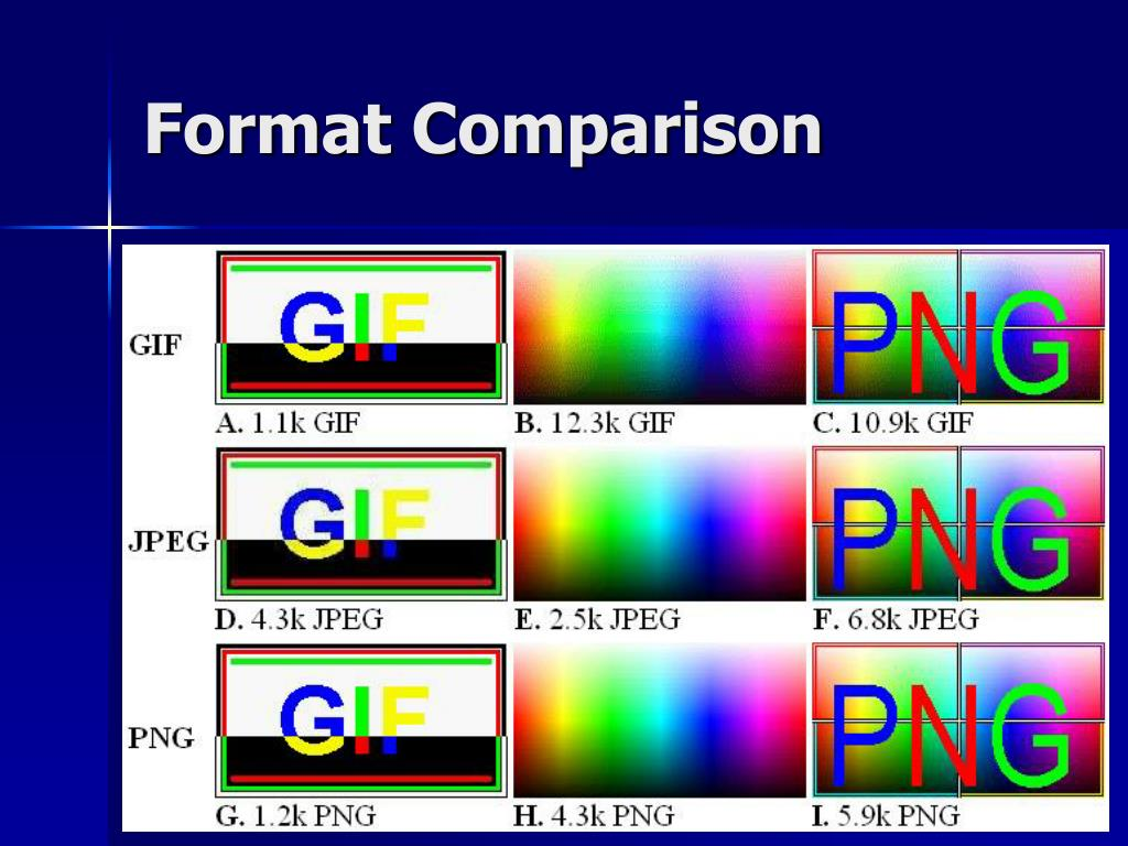 Format Comparison