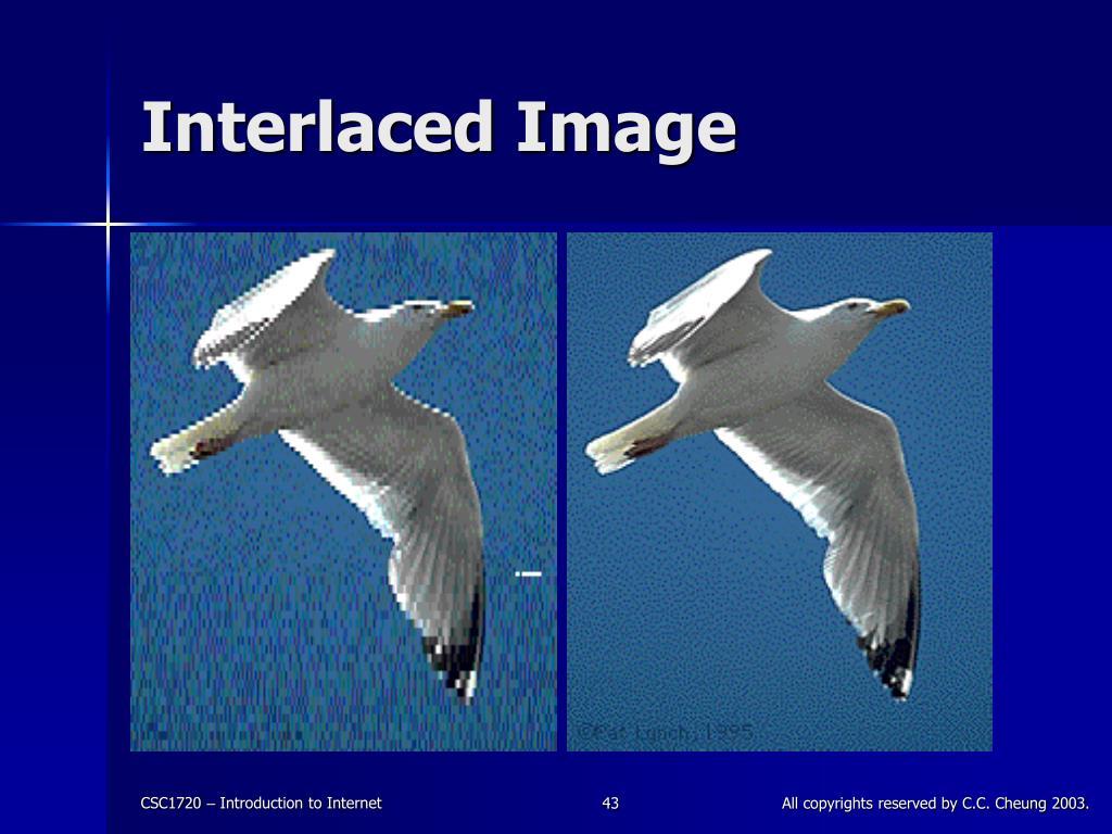 Interlaced Image