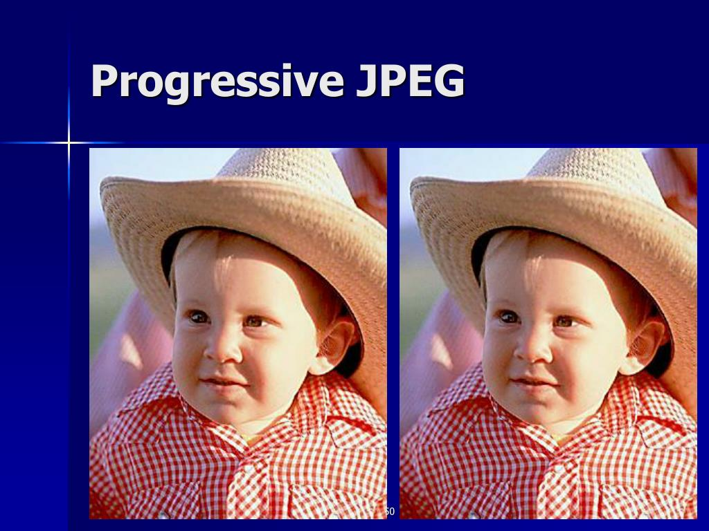 Progressive JPEG