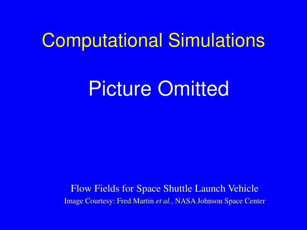 Computational Simulations