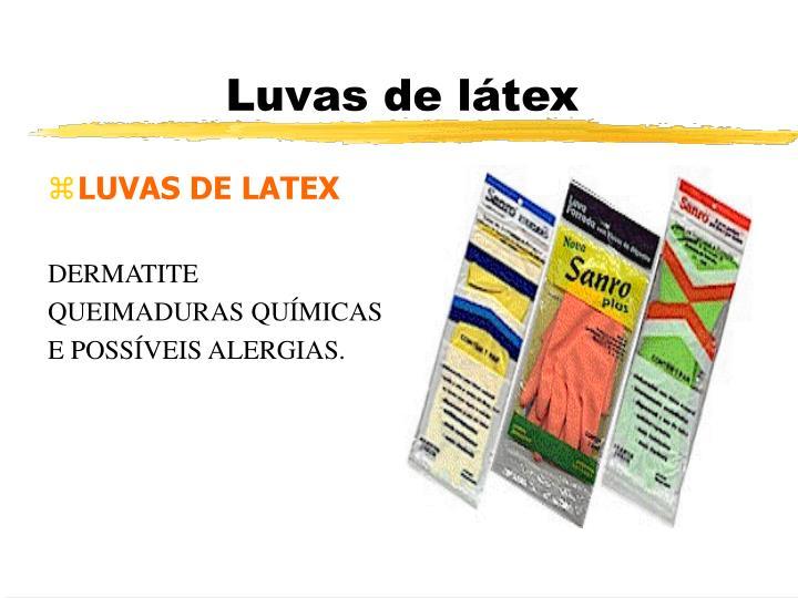 LUVAS DE LATEX