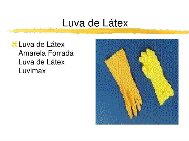 Luva de Látex