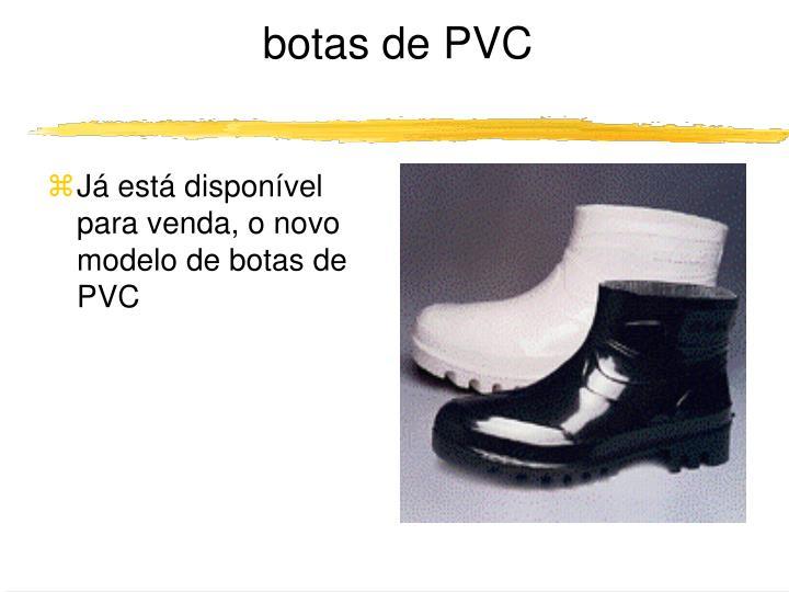 botas de PVC