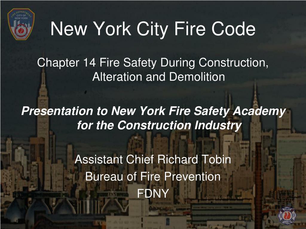 New York City Fire Code