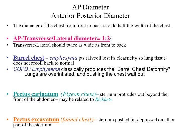 AP Diameter