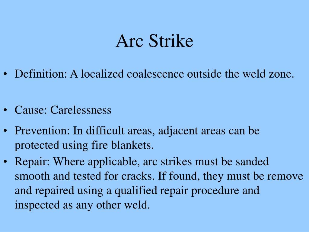 Arc Strike