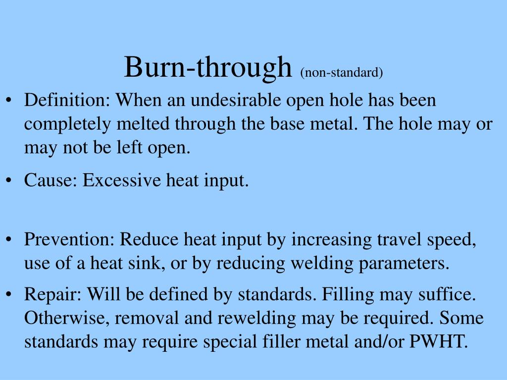Burn-through
