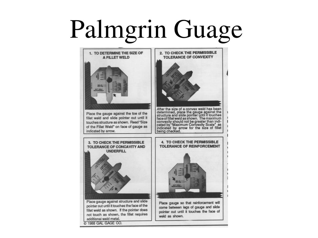 Palmgrin Guage