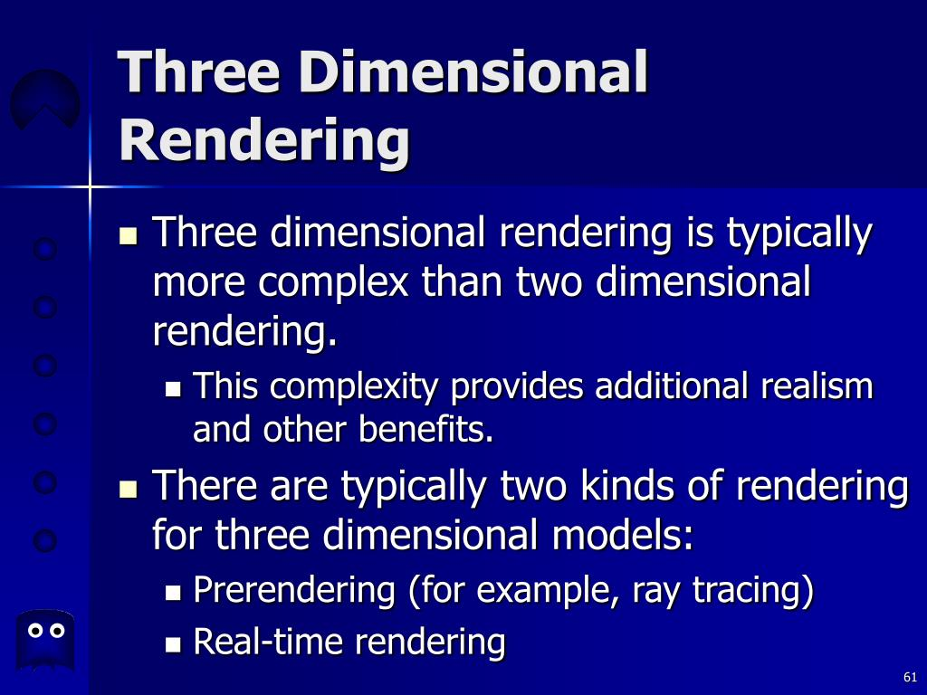 Three Dimensional Rendering