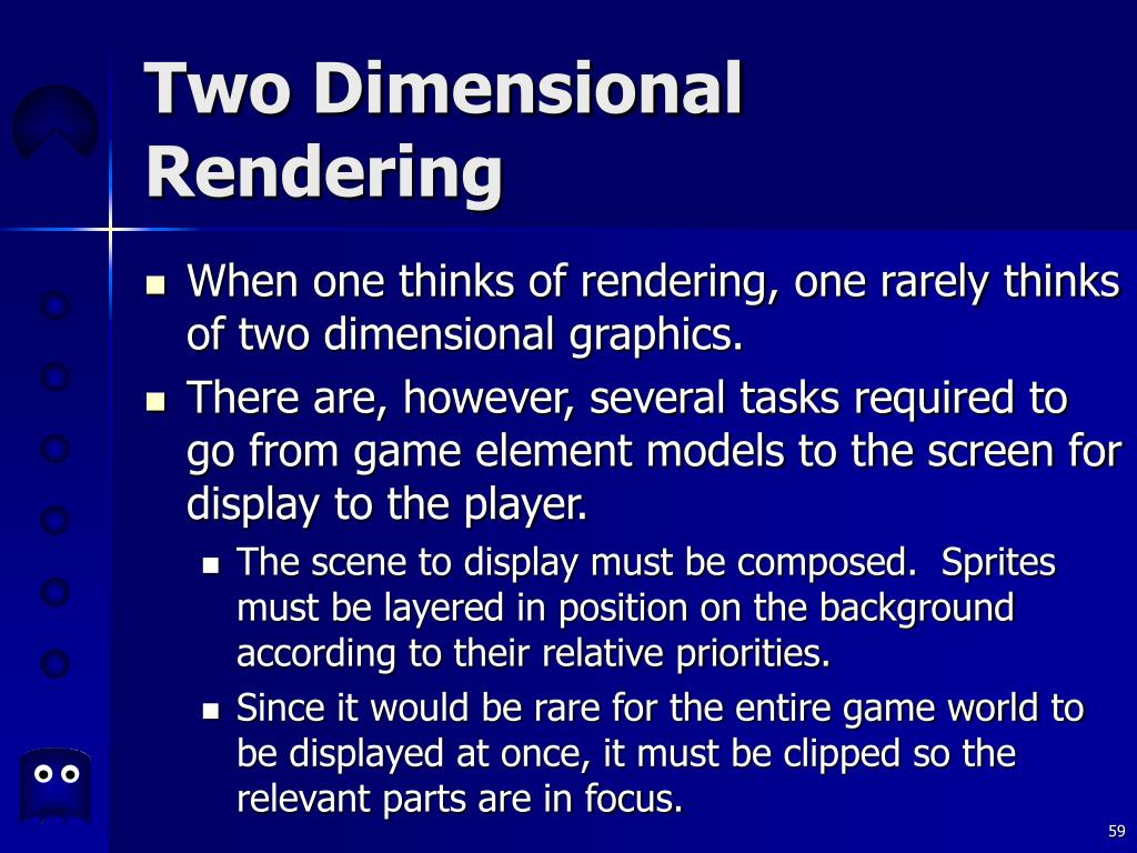 Two Dimensional Rendering