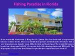 fishing paradise in florida