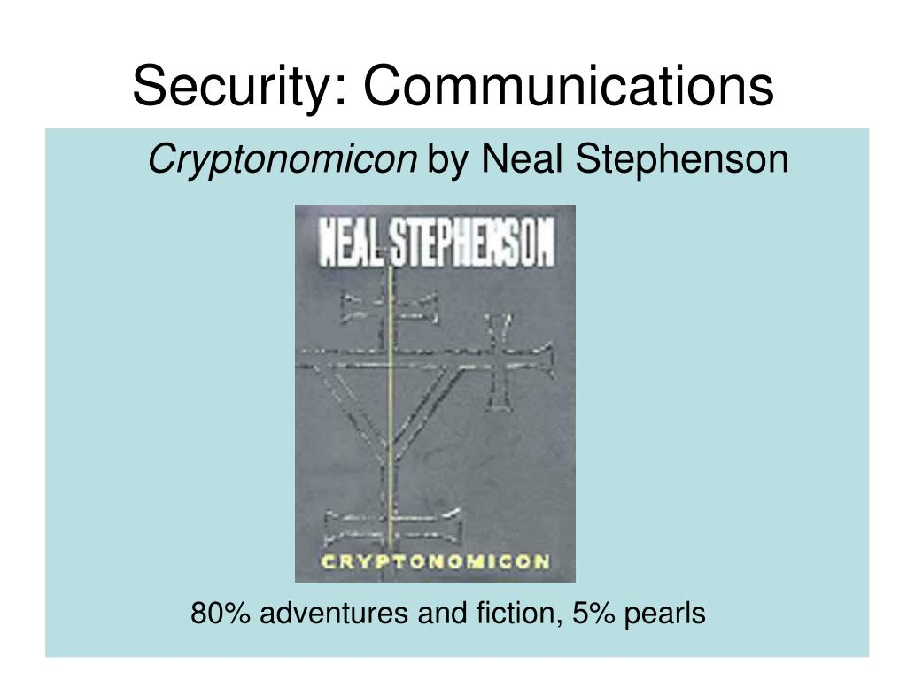 Security: Communications