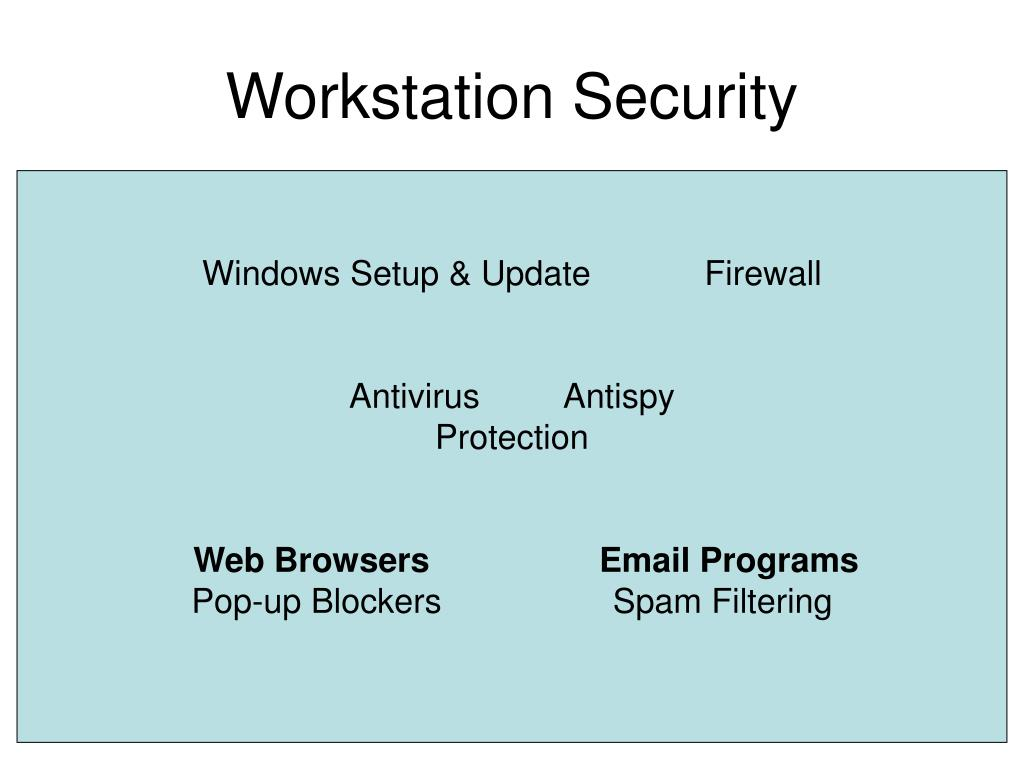 Workstation Security