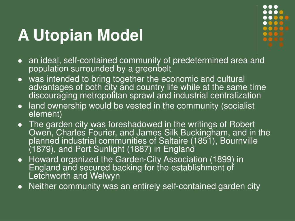A Utopian Model