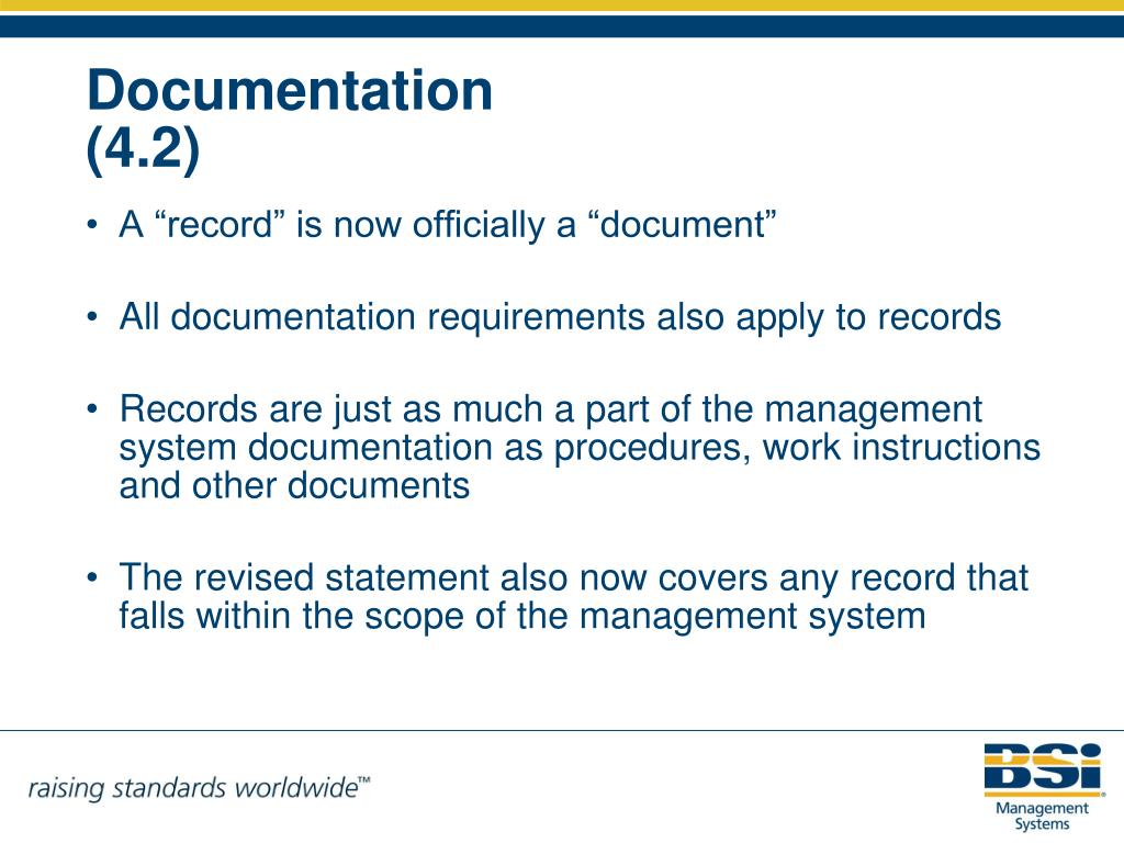 "A ""record"" is now officially a ""document"""