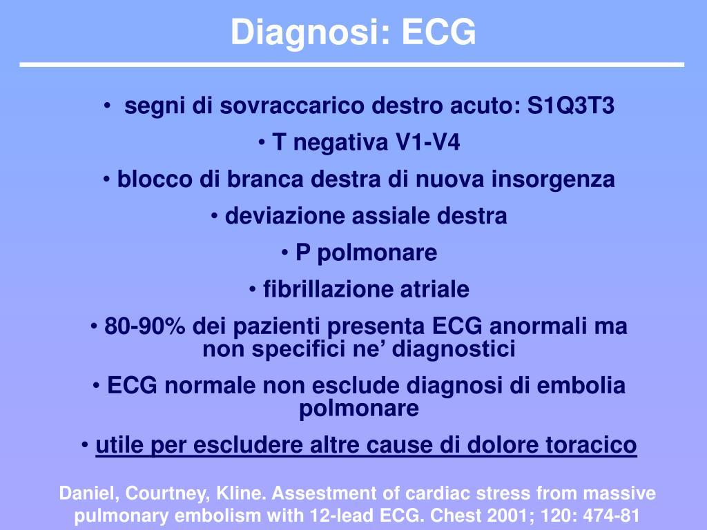 Diagnosi: ECG