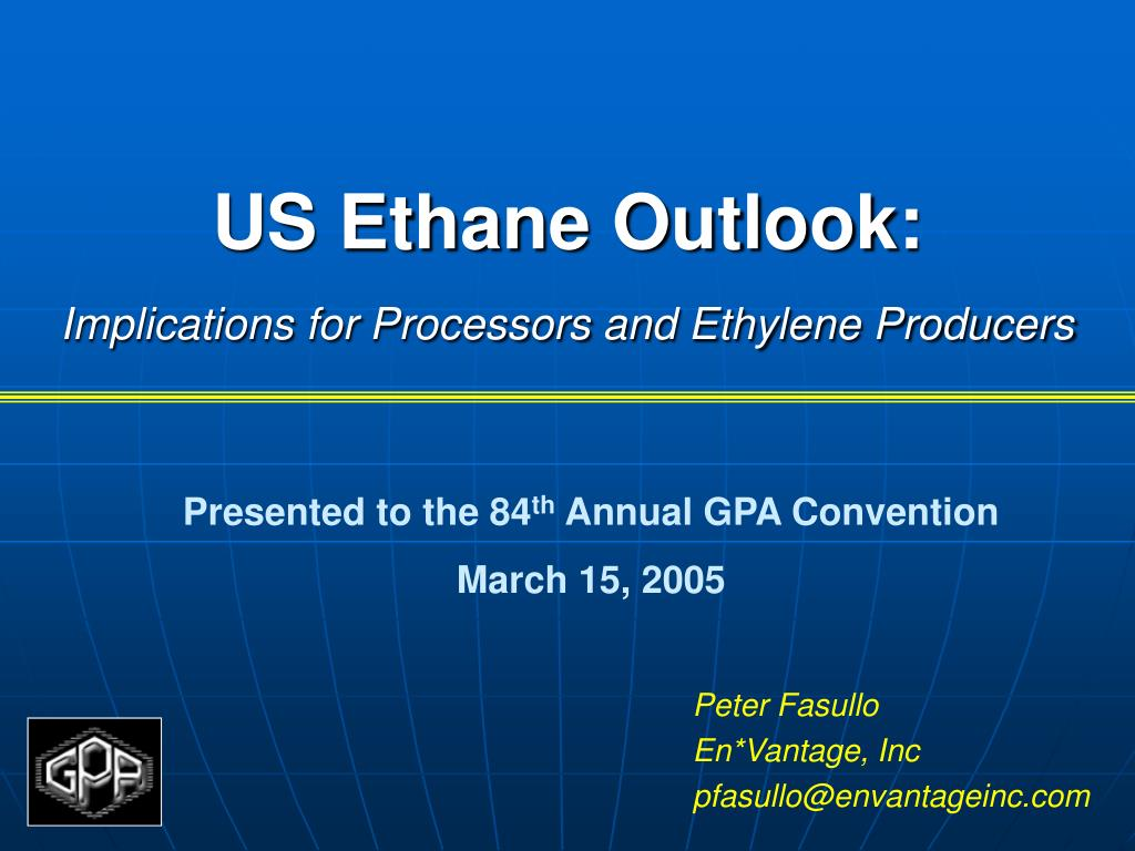 US Ethane Outlook: