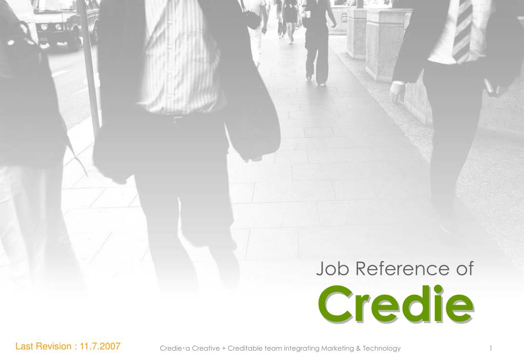 Job Reference of