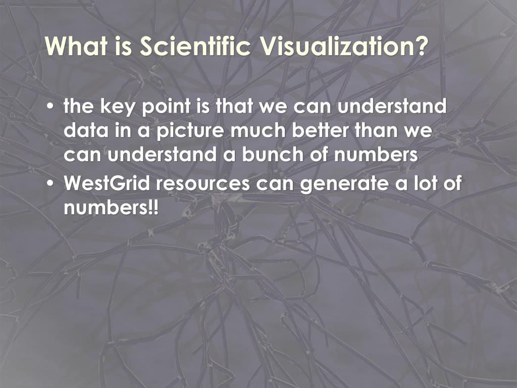 What is Scientific Visualization?