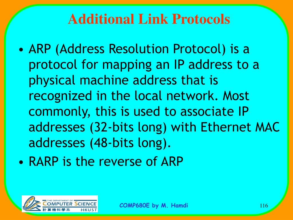 Additional Link Protocols
