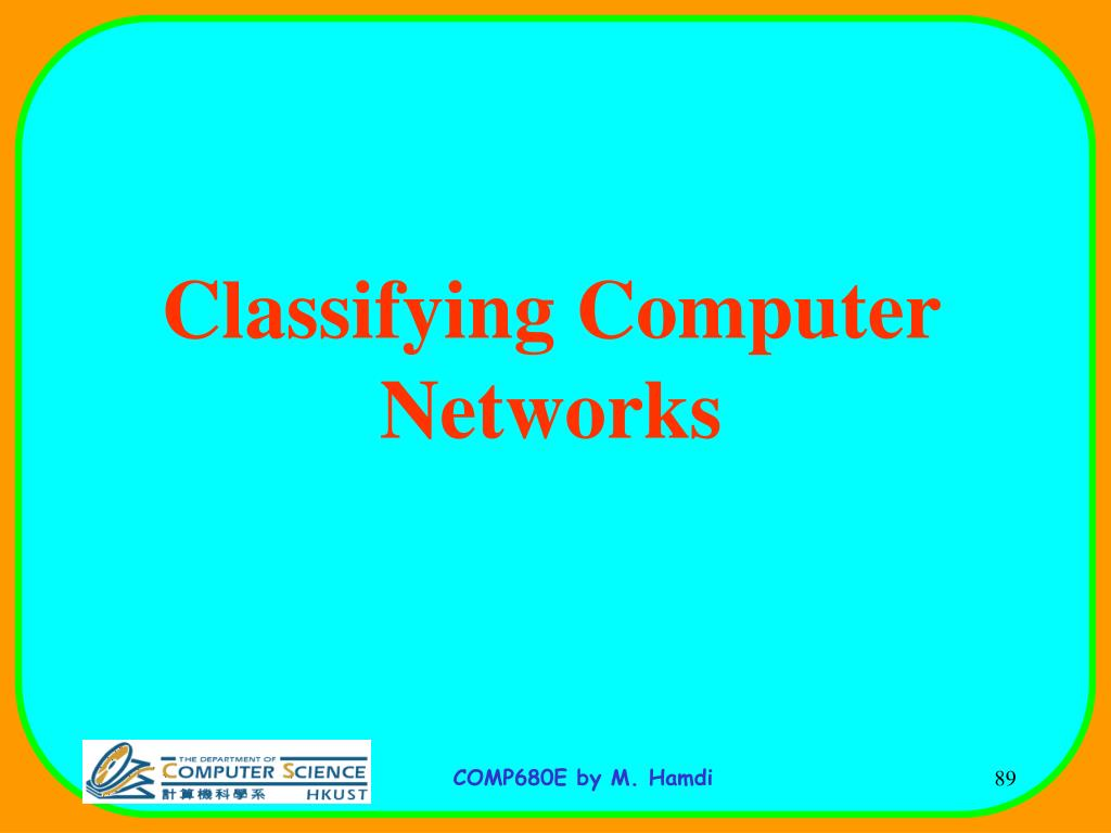 Classifying Computer Networks
