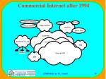 commercial internet after 199439