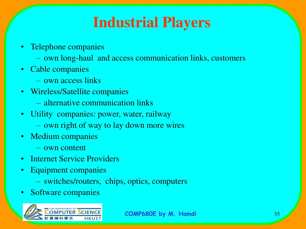Industrial Players