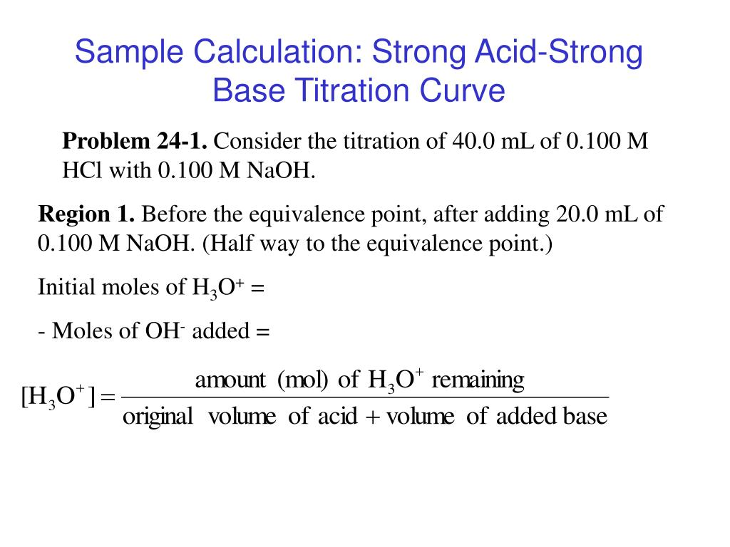 acid base titration curve Titration and ph measurement patricia a jennings, university of california,  solution as a function of the amount of added base (or acid) is a titration curve.