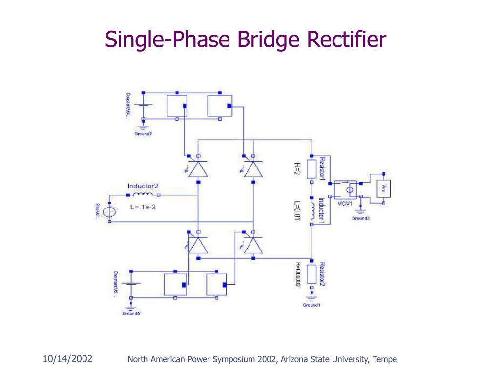 Single-Phase Bridge Rectifier