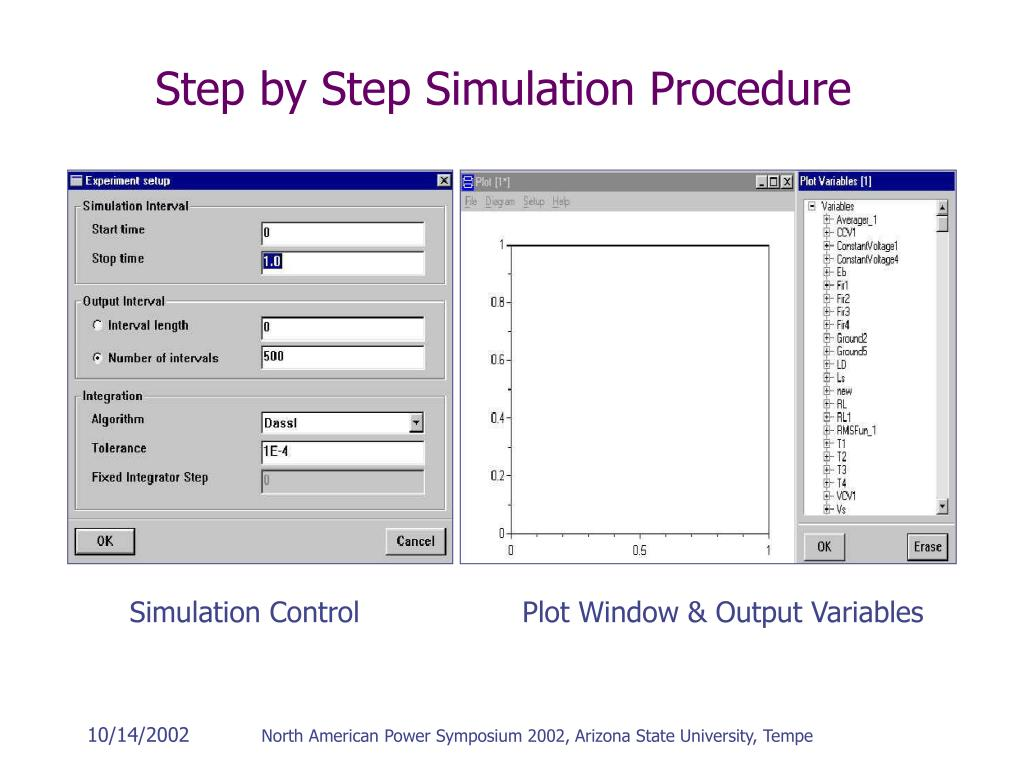 Step by Step Simulation Procedure