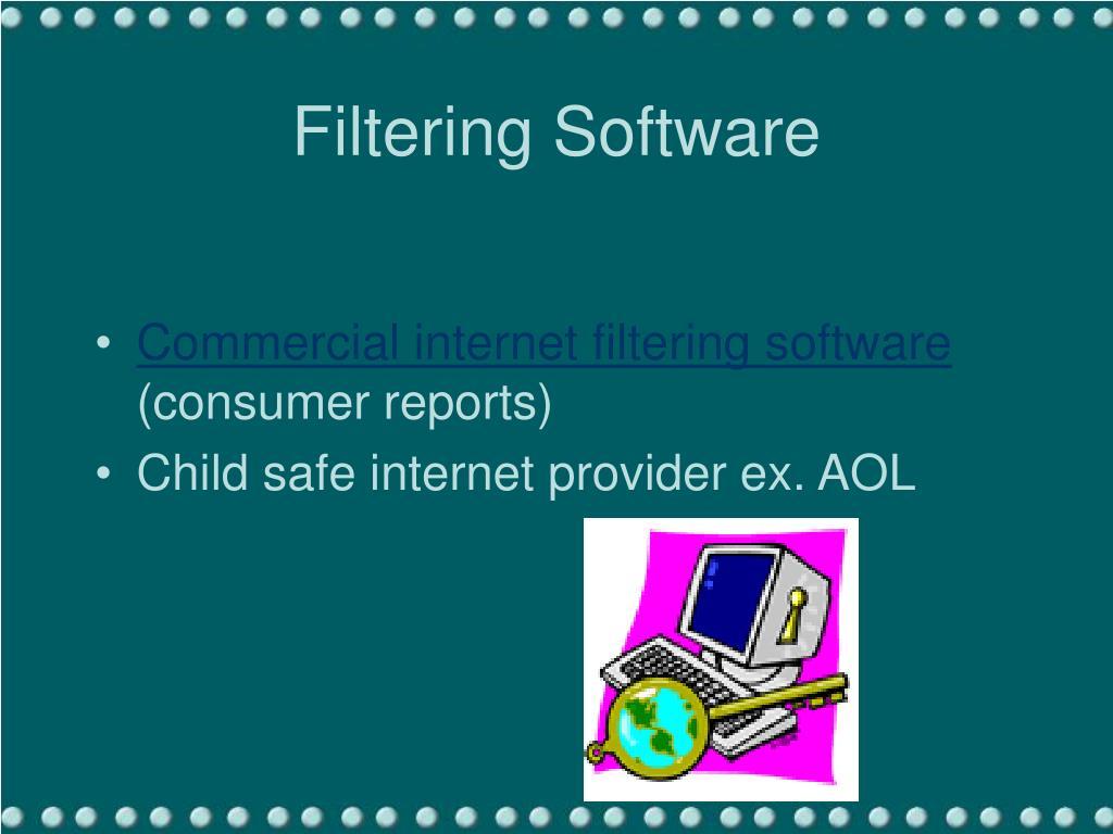 Filtering Software