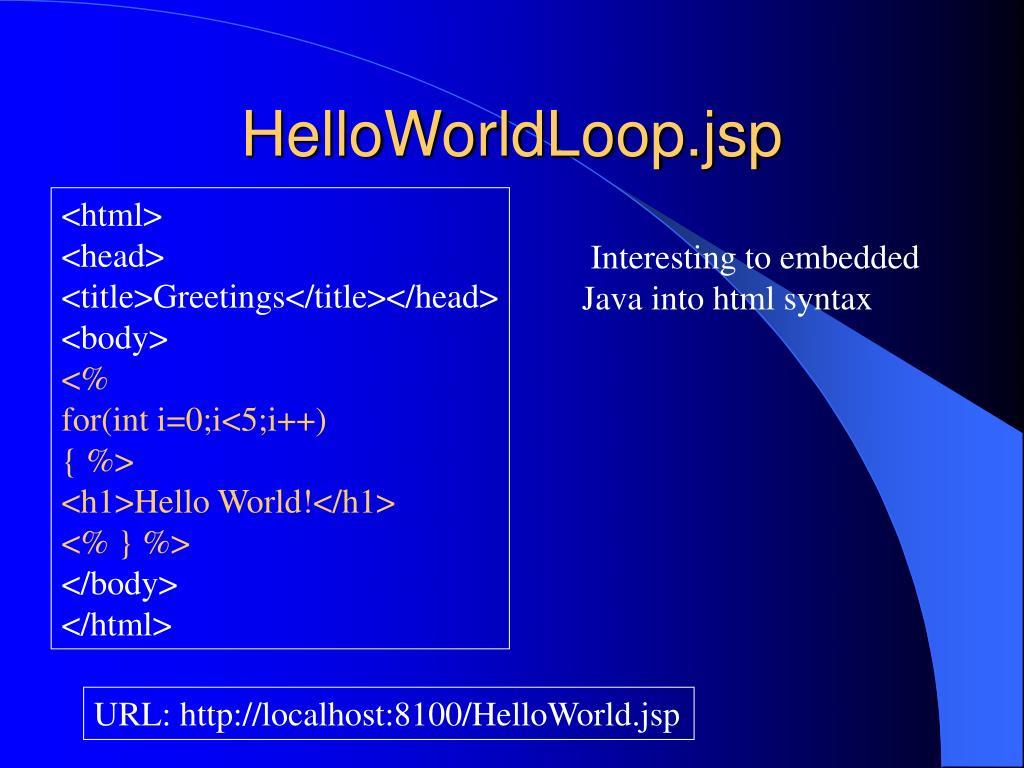 HelloWorldLoop.jsp