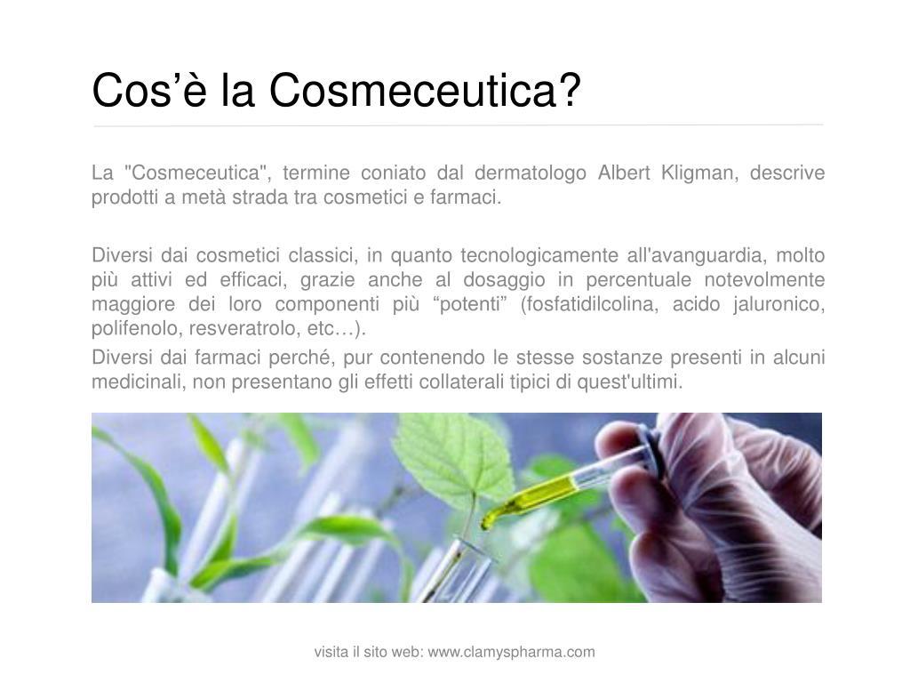 Cos'è la Cosmeceutica?