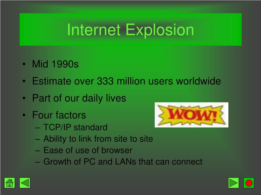Internet Explosion