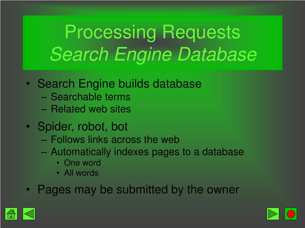 Processing Requests