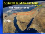 abraham s journey to egypt