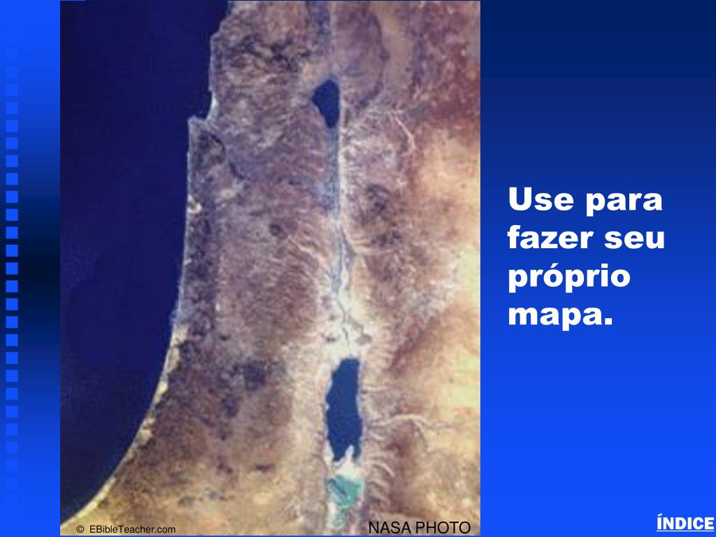 Israel Blank Map
