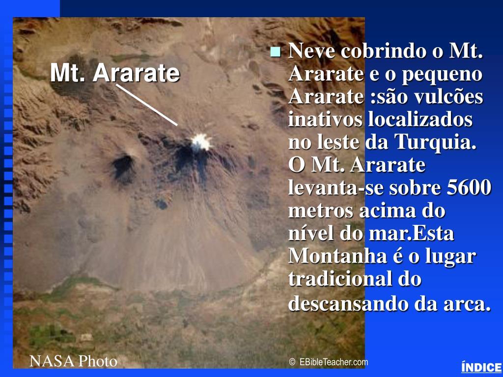 Noah's Ark Mt. Ararat