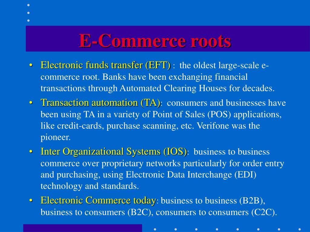 E-Commerce roots