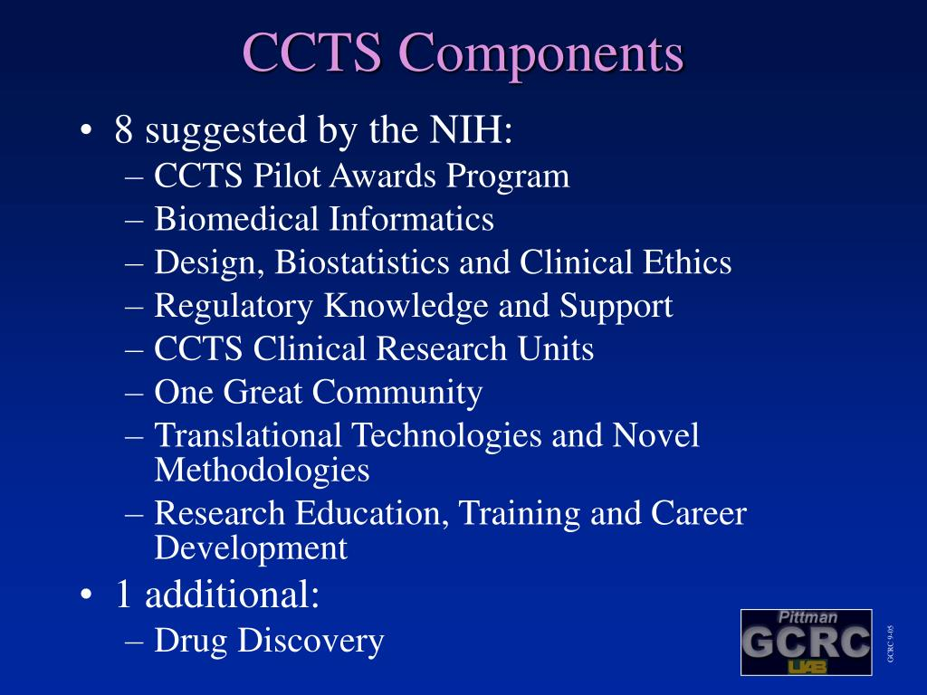 CCTS Components