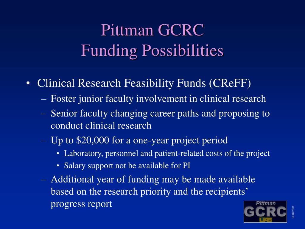 Pittman GCRC