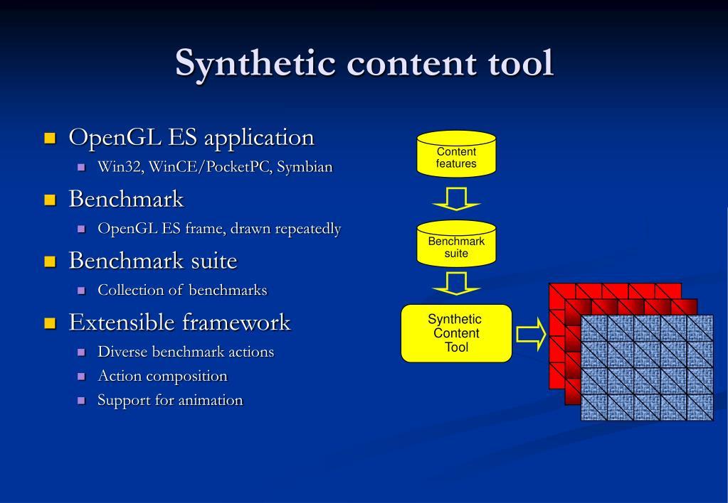 OpenGL ES application