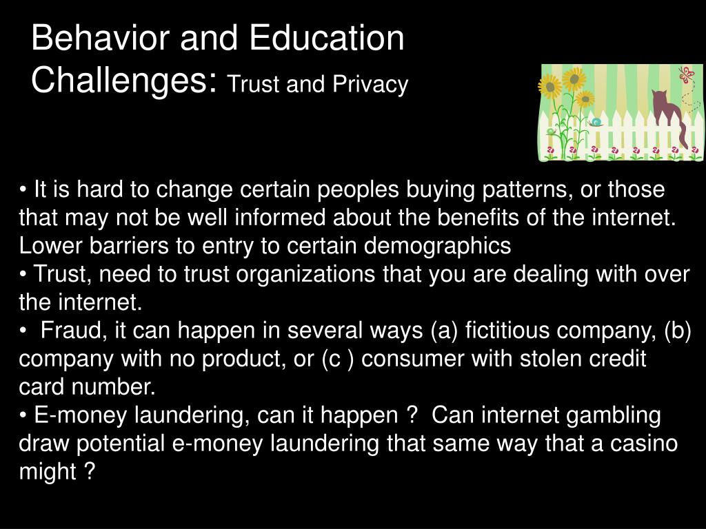 Behavior and Education