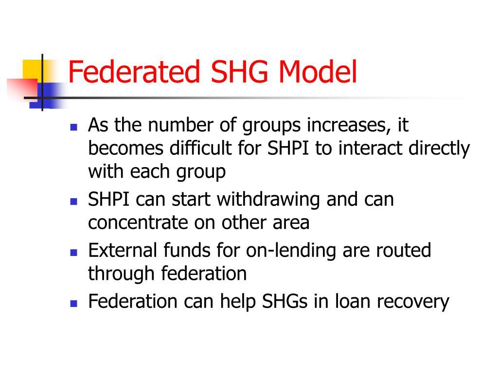 Federated SHG Model